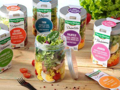 La « Salad Jar » : Le snacking froid made in Fleury Michon !