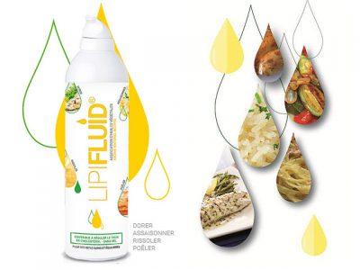 Le Spray d'huiles Lipifluid restitue 100% du produit