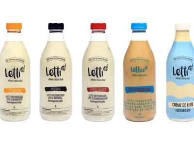 RECYCLABILITE – Du lait en bouteille PET clair, sans dioxyde de titane.