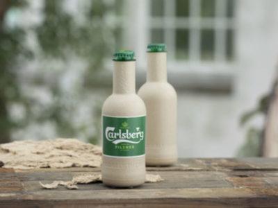 SUBSTITUTION : Carlsberg à l'avant-garde de la bouteille en papier !